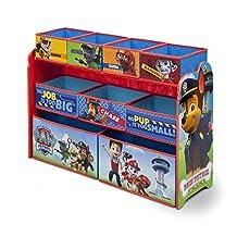 Nick Jr. Deluxe 9 Bin Toy Organizer, Paw Patrol