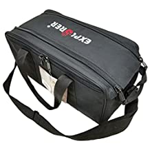 Explorer Bags  R5 Range Shooting, Patrol and Duty Bag, Black, 17 x 8 x 9-Inch