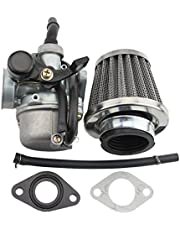 GOOFIT PZ19 Carburetor with Air Filter for Kazuma Taotao Baja Roketa SUNL Honda XR/CRF 50cc 70cc 90cc 110cc 125cc Dirt Pit Bike Go Kart Chinese 4 Wheeler