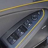 Yellow 5M Flexible Trim For Car Interior Exterior
