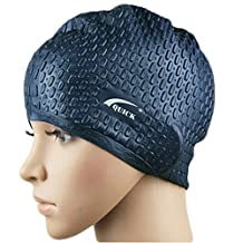 X Shop Flexible Adult Comfort Stretch Silicone Swimming Cap