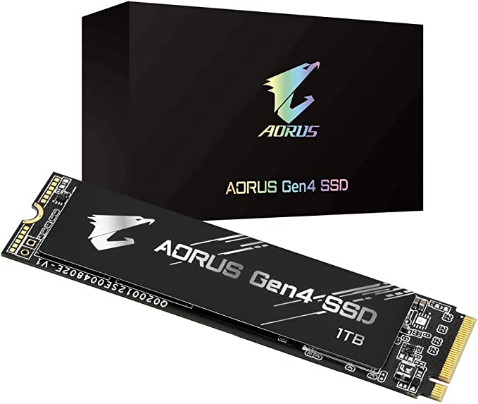 Amazon.com: Gigabyte AORUS NVMe Gen4 M.2 1TB PCI-Express 4.0 Interface High Performance Gaming, 3D TLC NAND, External DDR Cache Buffer, SSD GP-AG41TB: Computers & Accessories