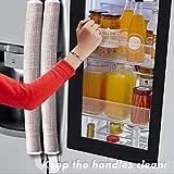 Volecy Refrigerator Door Handle Covers, Set of 6