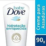 Creme para Assaduras Baby Dove Hidratação Enriquecida 90 GR, Baby Dove