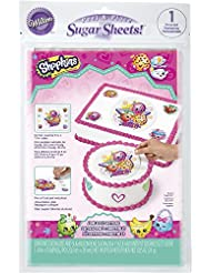 Wilton 710-7117 Shopkins Peel and Place Sugar Sheets, Assorted