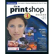 The Print Shop 21 Deluxe By Broderbund