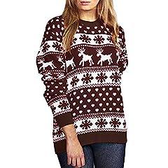 cf5d6f3bc8ce8 Franterd Christmas Blouse Women Xmas Stocking Splice Striped Long Sleeve  Shirt Autumn Sports Tops