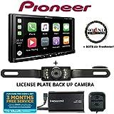 Pioneer MVH-2300NEX 7 Digital Multimedia Video Receiver w Apple CarPlay, Android Auto, Built-in Bluetooth, SiriusXM-Ready + SXV300KV1 SiriusXM Tuner + SV5130IR Backup Camera and SOTS Freshener
