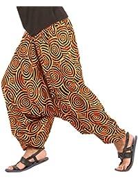 Mens Womens Boho Hippie Baggy Cotton Harem Pants with...