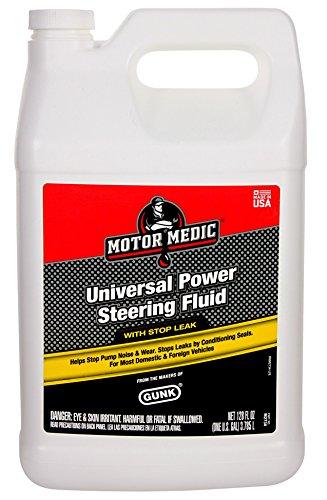 Motor Medic M2734 Universal Power Steering Fluid with Stop Leak - 1 - Power Steering Leak