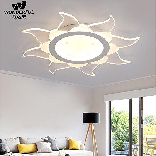 Leihongthebox Ceiling Lights lamp Light baby children's room lamp led ceiling light floral art light 500mm,500mm ()