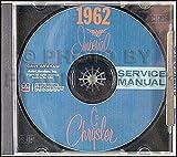 1962 Chrysler CD-ROM Repair Shop Manual for Imperial 300 New Yorker Newport
