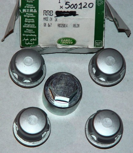 Land Rover Brand LR3 LR4 Range Rover L322 Sport Locking Alloy Wheel Nut Set OEM