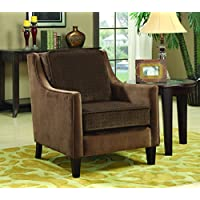 Coaster 902043 Traditional Accent Chair, Brown