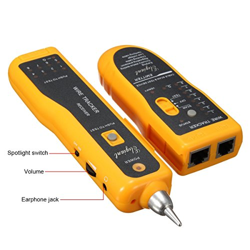 Cable Tester Product : Cable tester elegiant xq wire tracker rj