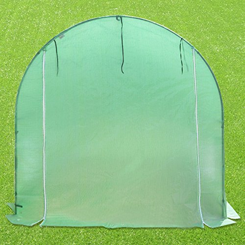 Strong Camel New Hot Green House 12'X7'X7' Larger Walk in Outdoor Plant Gardening Greenhouse by Strong Camel (Image #2)