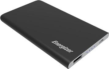 Energizer 4000mAh Mini Powerbank Batería Externa, Cargador Móvil Portátil Carga rápida para Apple iPhone, Huawei, Samsung Galaxy y tabletas como Apple ...