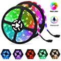 LED Light Strips 32.8ft, Color Changing RGB LED Strip Lights for Room 10M Waterproof Flexible Neon Tape Lights, Dimmable Rope Lights 5050 with Remote 12V for Christmas Bedroom Decoration Mood Lighting