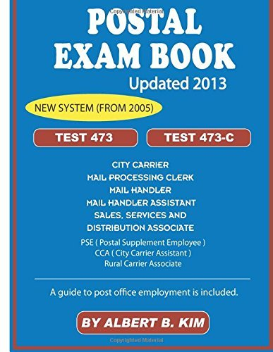 By Albert B. Kim Postal Exam Book for Test 473 and 473-C (Updated) [Paperback]