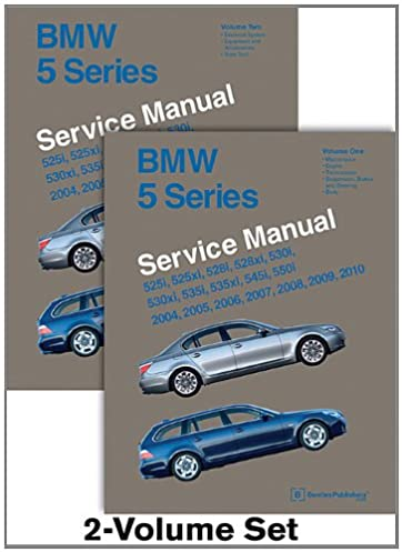 bmw 5 series e60 e61 service manual 2004 2005 2006 2007 2008 rh amazon com bmw e60 repair manual online bmw e60 repair manual free download