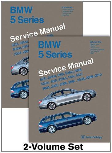 Service Indicator Manual - BMW 5 Series (E60, E61) Service Manual: 2004, 2005, 2006, 2007, 2008, 2009, 2010