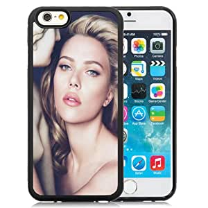 Popular And Unique Designed Case For iPhone 6 4.7 Inch TPU With Scarlett Johansson Sexy Phone Case Cover