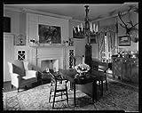 Photo: Benton,houses,fireplaces,woodwork,tables,VA,Virginia,Architecture,South,c1930