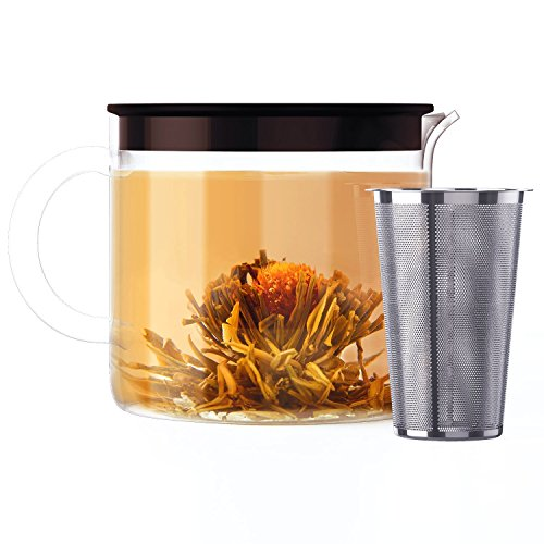 Blooming-Tea-Set-Glass-Teapot-Safe-for-Use-on-Stove-1-Teapot-with-7-Flavored-Organic-Flowering-Teas