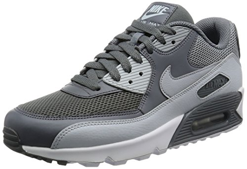 Nike Air Max 90 Essential, Scarpe da Ginnastica Uomo Multicolore (Cool Grey/Wolf Grey/Pure Platinum/White)