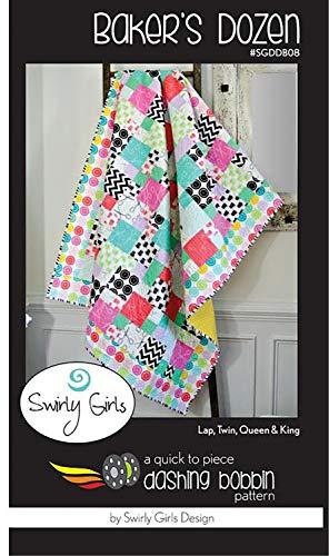 Bakers Dozen - Multiple Sizes - by Swirly Girls Design for $<!--$9.95-->