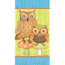 Owls – Debbie Mumm 2018 Checkbook/2 Year Pocket Planner Calendar (CC0283)