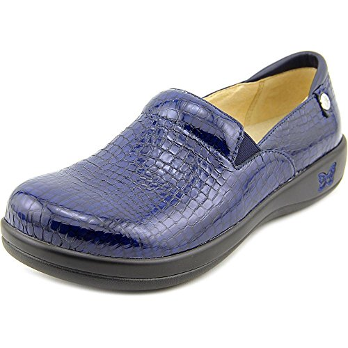 (Alegria Women's Keli Professional Blue Croco Shoe)