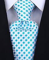 Scott Allan Mens Checkerboard Necktie
