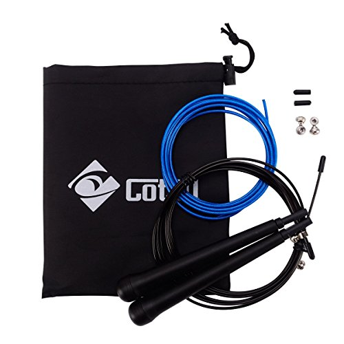 Cotill Adjustable Speed Jump Rope (Advanced Rubber Guard Dvd compare prices)