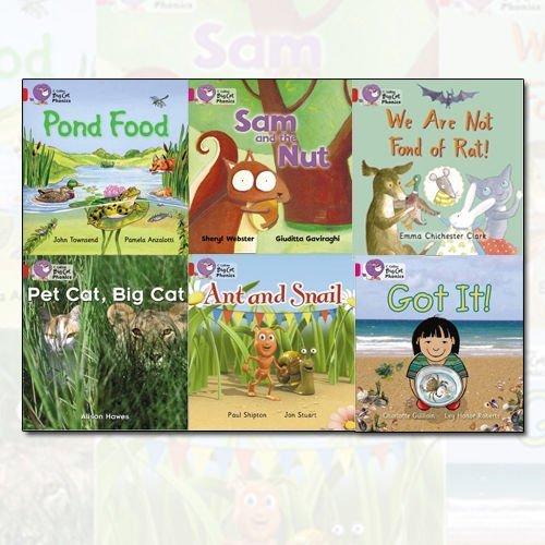 Collins Big Cat Reading Lions Phonics Level 1 6 Books Bundle Collection:  Amazon.co.uk: 9789444468737: Books