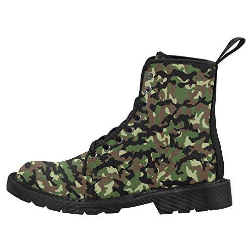 InterestPrint Womens Boots Unique Designed Comfort Lace Up Boots Multi 2 glRx1