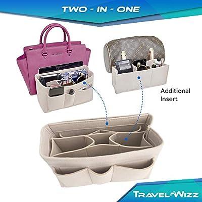 Handbag Organizer - 2in1 Bag Purse Tote Insert with Waterproof Pocket …