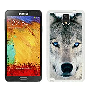 Wolf Samsung Galaxy Note 3 Case White Cover From FAGUO
