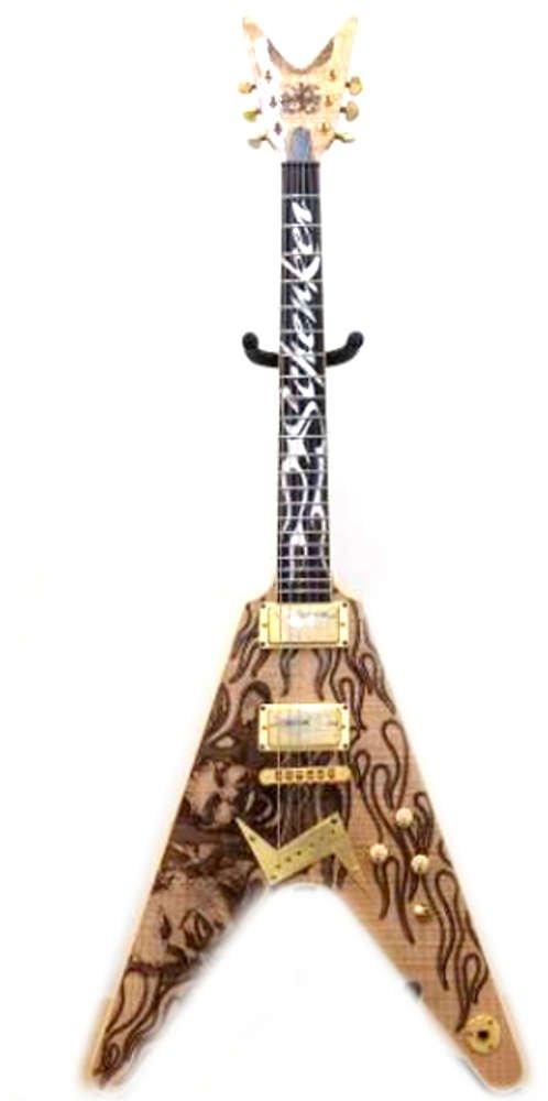DEAN 世界限定200本モデル エレキギター Schenker Brothers V Limited200 オリジナル布ダストカバー[プレゼント セット]   B078S1WGVB