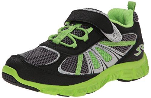 Stride Rite Propel 2 ALT Closure Sneaker (Toddler/Little Kid), Black/Grey, 12 M US Little - Sneakers Rite Stride Lightweight