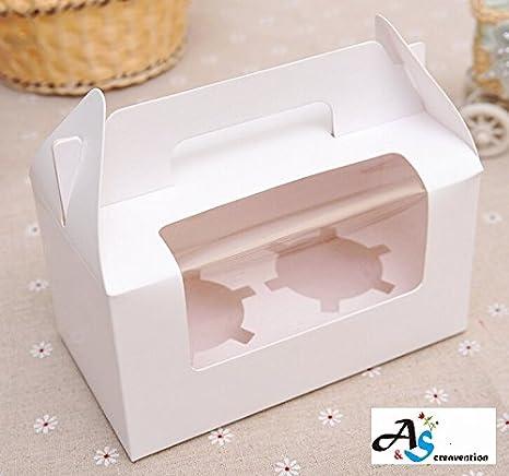 Amazon.com: A&S Creavention - Juego de 10 cajas de cartón ...