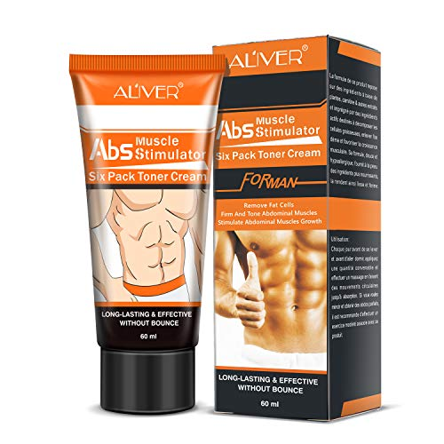 Abdominal Muscle Toner Belly Fat Burner Body Slimming Cream With HEAT Sweat Technology -Thermogenic Weight Loss Workout Enhancer