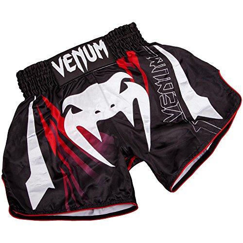 Venum Sharp 3.0 Muay Thai Shorts, Black/Red, Medium