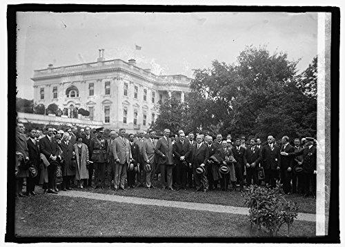 Photo: World Police Chiefs at W.H.,i.e.,White House,Washington,D.C.,5/25/25 2