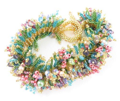 Ann Beaded Bracelets (Beads East Spring Beaded Bracelet Kit by Ann)