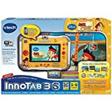 Vtech Jake and the Neverland Pirates Inno Tab Innotab 3S Learning Tablet Bundle WiFi Storage Case Wrist Strap & Charm