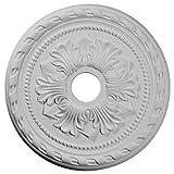 Ekena Millwork CM20PM 20 7/8-Inch OD x 3 5/8-Inch ID x 1 5/8-Inch P Palmetto Ceiling Medallion