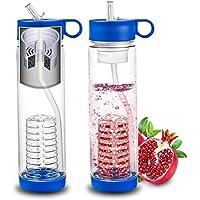 Filter Water Bottle Fruit Infuser