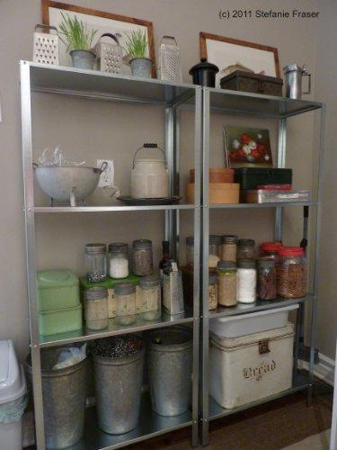 Ikea Hyllis Galvanised Large Shelf Unit Indoor Or Outdoor Use