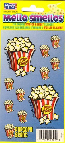 popcorn scrapbook - 2